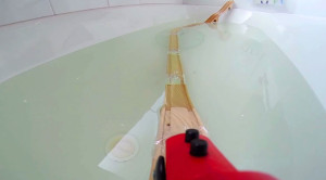 Wooden Underwater Railway: An Adorable Family Project!
