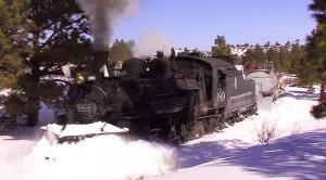 Cumbres And Toltec Scenic Railroad Stuns In Winter!
