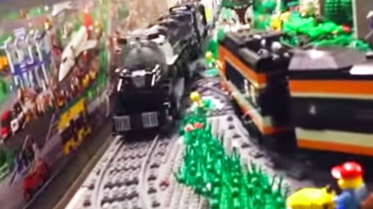 UP's Big Boy Like You've Never Seen It! | Train Fanatics Videos