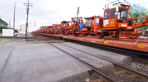 Norfolk Southern Hauls Maintenance Of Way Equipment!