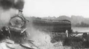 The Most Spectacular Rail Crash In Cinema!