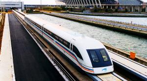 Passing Maglev Trains Create Surprising Shockwave!
