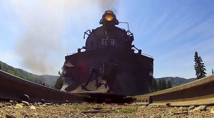 GoPro From Below: The K-36 Steam Engine!