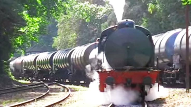 Fireless Steamers Keep Germany's Industry Thriving! | Train Fanatics Videos