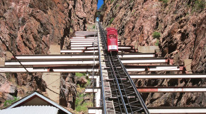 Riding North America's Steepest Railway: Royal Gorge Incline Railway!