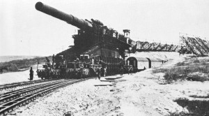 Railroads And War: The Worlds Largest Railway Gun!