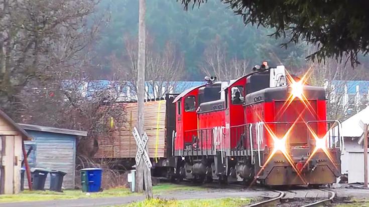 120 Year Old Simpson Logging Railroad To Close! | Train Fanatics Videos