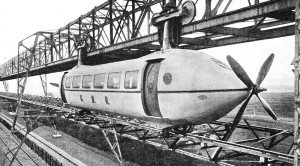 The United Kingdoms Little Known 'Railplane'!