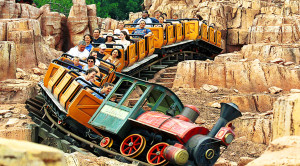 Disney's Big Thunder Mountain Railroad Thrills And Excites!