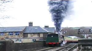 Steamer's Wheels Slip, Erupts Like Volcano!