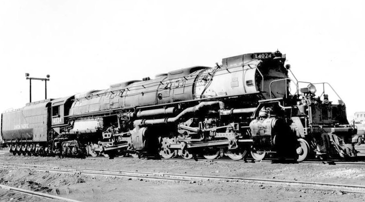 10 things you might not know about union pacific 39 s big boy. Black Bedroom Furniture Sets. Home Design Ideas