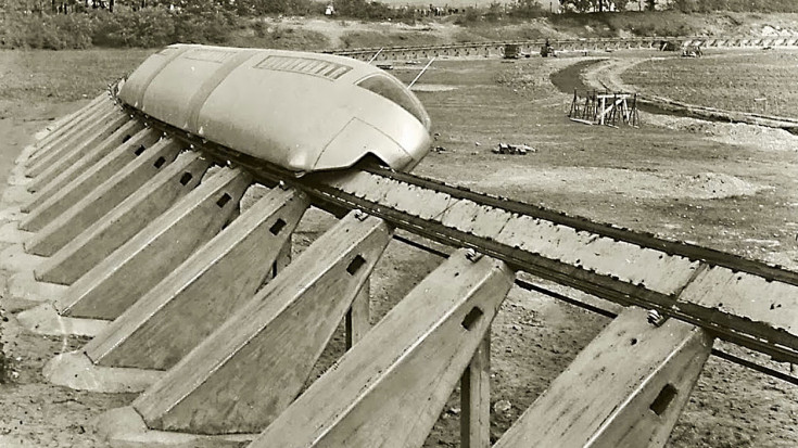 Early Alweg Track Shows Beginnings Of Modern Monorail! | Train Fanatics Videos