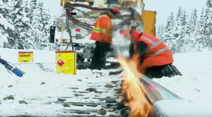 How To Maintain The Rails In Alaska's Harsh Winter!