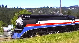Southern Pacific #4449's Last Run For The American Freedom Train!