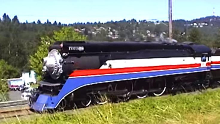 Southern Pacific #4449's Last Run For The American Freedom Train! | Train Fanatics Videos