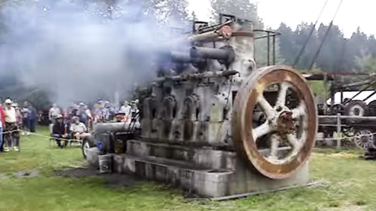 Antique Fairbanks Morse Diesel Engine Running Strong After 75 Years | Train Fanatics Videos