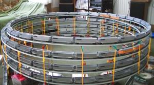 Unbelievable H/O Scale Model Train Quadruple Double Helix!