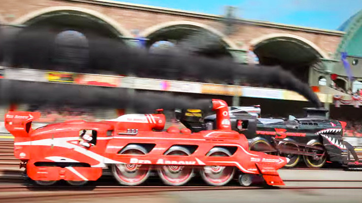 The Great Steampunk Race! | Train Fanatics Videos