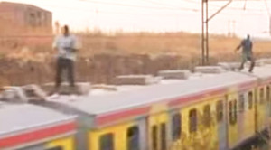 South Africa's Youth Take Up Train Surfing As Pastime!