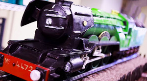 Master Chocolatier Creates 'Flying Scotsman' Replica You Have To See To Believe!