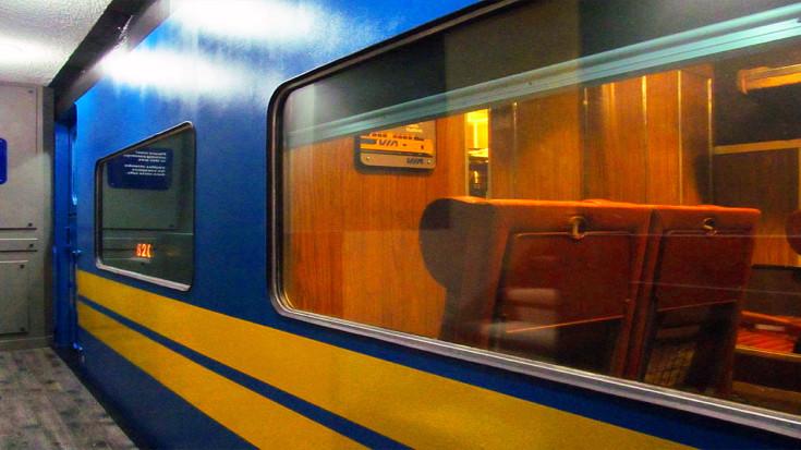 Man Fits Full-size VIA Train In Basement! | Train Fanatics Videos