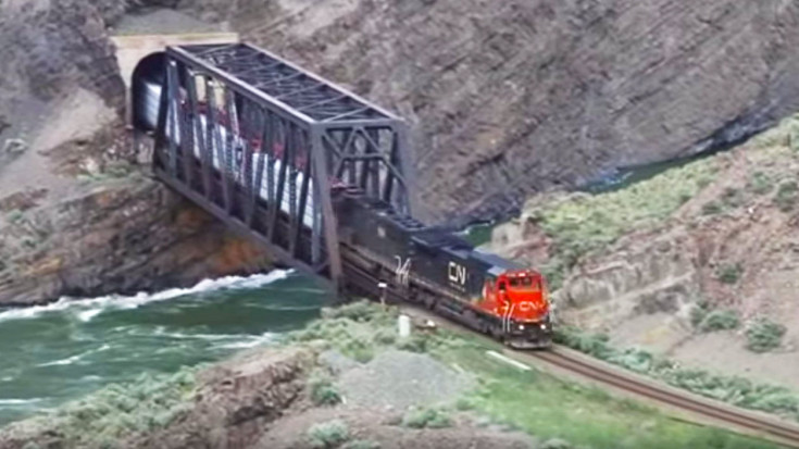 Landslides In Black Canyon Keep Engineers On Their Toes!  | Train Fanatics Videos