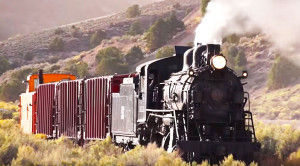 Rare Close Up Northern Nevada Steam Excursion!