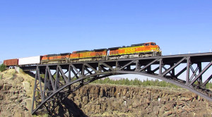 Crooked River Canyon Railroad Bridge Is Over 100 Years Old!