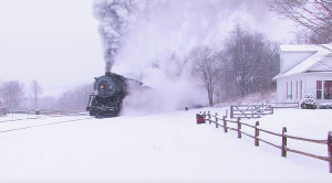 Western Maryland #734  In The Snow