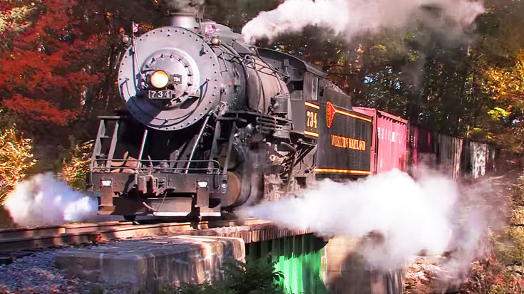 WMSR's Gorgeous Steam & Fall Colors Will Have You Dreaming Of Autumn! | Train Fanatics Videos