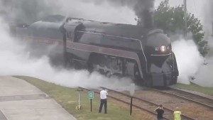 Norfolk And Western's No. J 611 Test Run