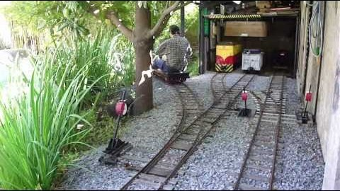 Hand Crank Car Gets You There Eventually! | Train Fanatics Videos