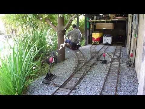 Basic Car Maintenance >> Hand Crank Car Gets You There Eventually! - Train Fanatics
