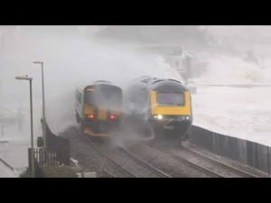 Storm Trounces South Devon Railway!