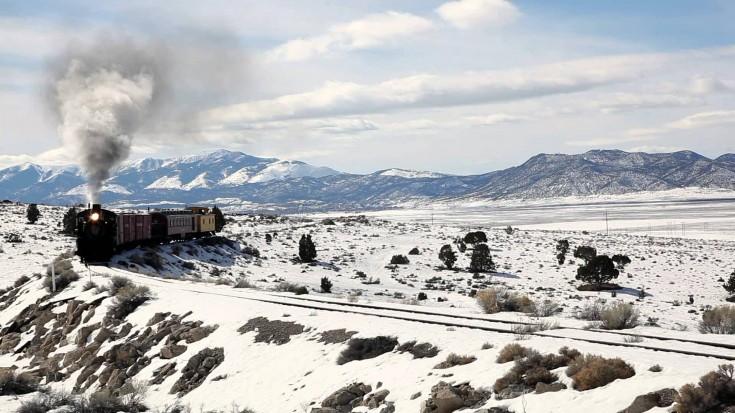 "Nevada Northern's ""Queen Of Steam"" In Winter | Train Fanatics Videos"