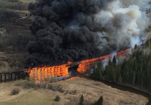 Arsonist Torches 100 Year Old CN Trestle In Canada!