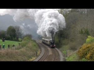 GWR 5043 Earl Of Mount Edgcumbe Gives A Dignified Display Of Steam!