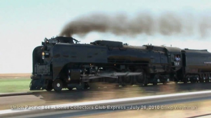 Pacing UP's #844 Headed To Cheyenne! | Train Fanatics Videos