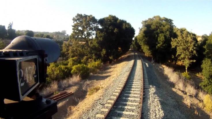 Southern Pacific's #2472 Go Pro Gets It All! | Train Fanatics Videos