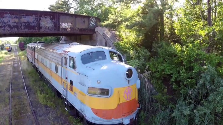 Abandoned Trains Are Always Sad To See! | Train Fanatics Videos