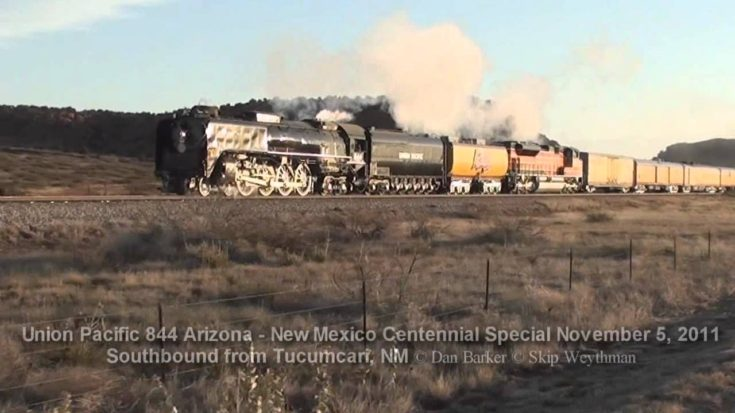 Pacing The UP 844 At Sunrise! | Train Fanatics Videos