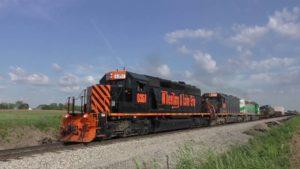 Wheeling & Lake Erie Hauls Oil Tankers Galore!