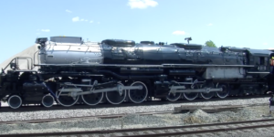 Union Pacific's 4018 Big Boy In Slow Motion!