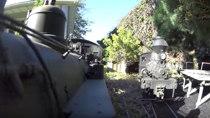 Realistic 4K Action On A Bachmann K-27   Train Fanatics Videos