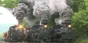 Triple Header Of Steam And Smoke!