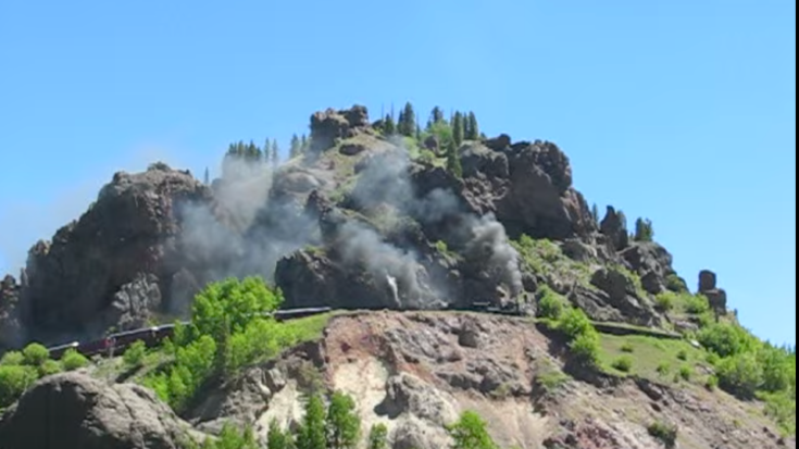 Windy Point Double Header On Cumbres & Toltec RR! | Train Fanatics Videos