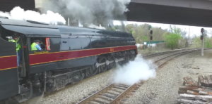 Norfolk & Western J611 On The Move!