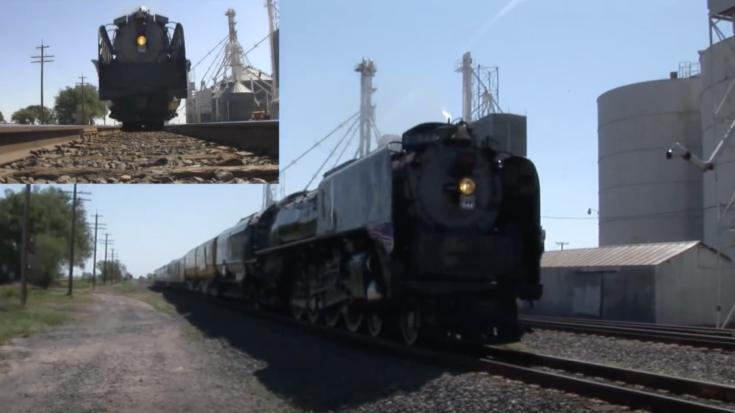 UP #844 Over And Under! | Train Fanatics Videos