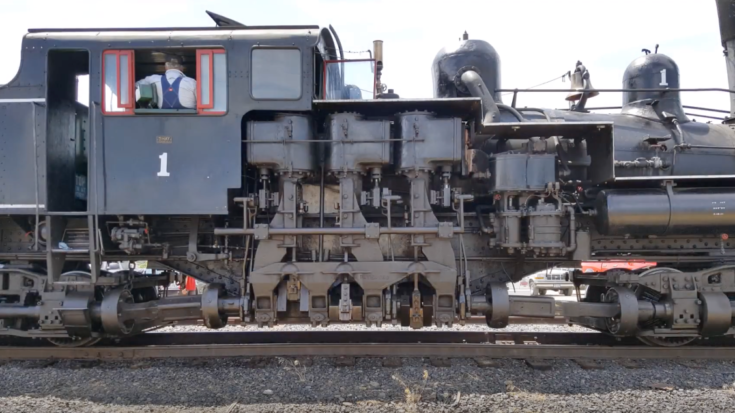 Pacing The Mount Emily Shay #1 Steam Locomotive ! | Train Fanatics Videos