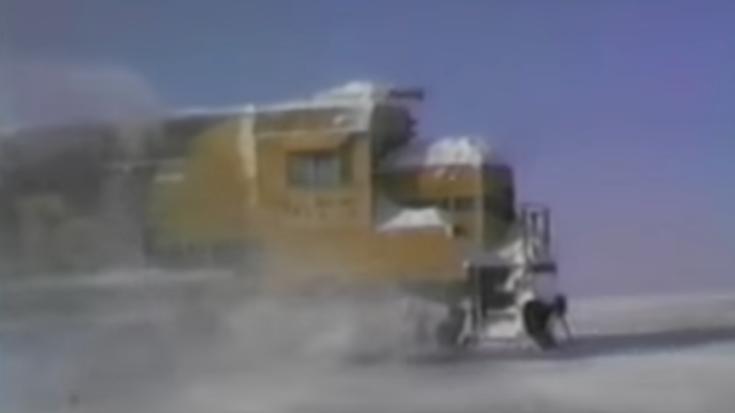 Pacing Santa Fe Through The Snow ! | Train Fanatics Videos